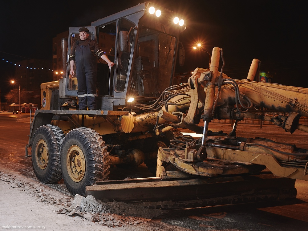 03:52 AM. Andrew, snow grader driver.