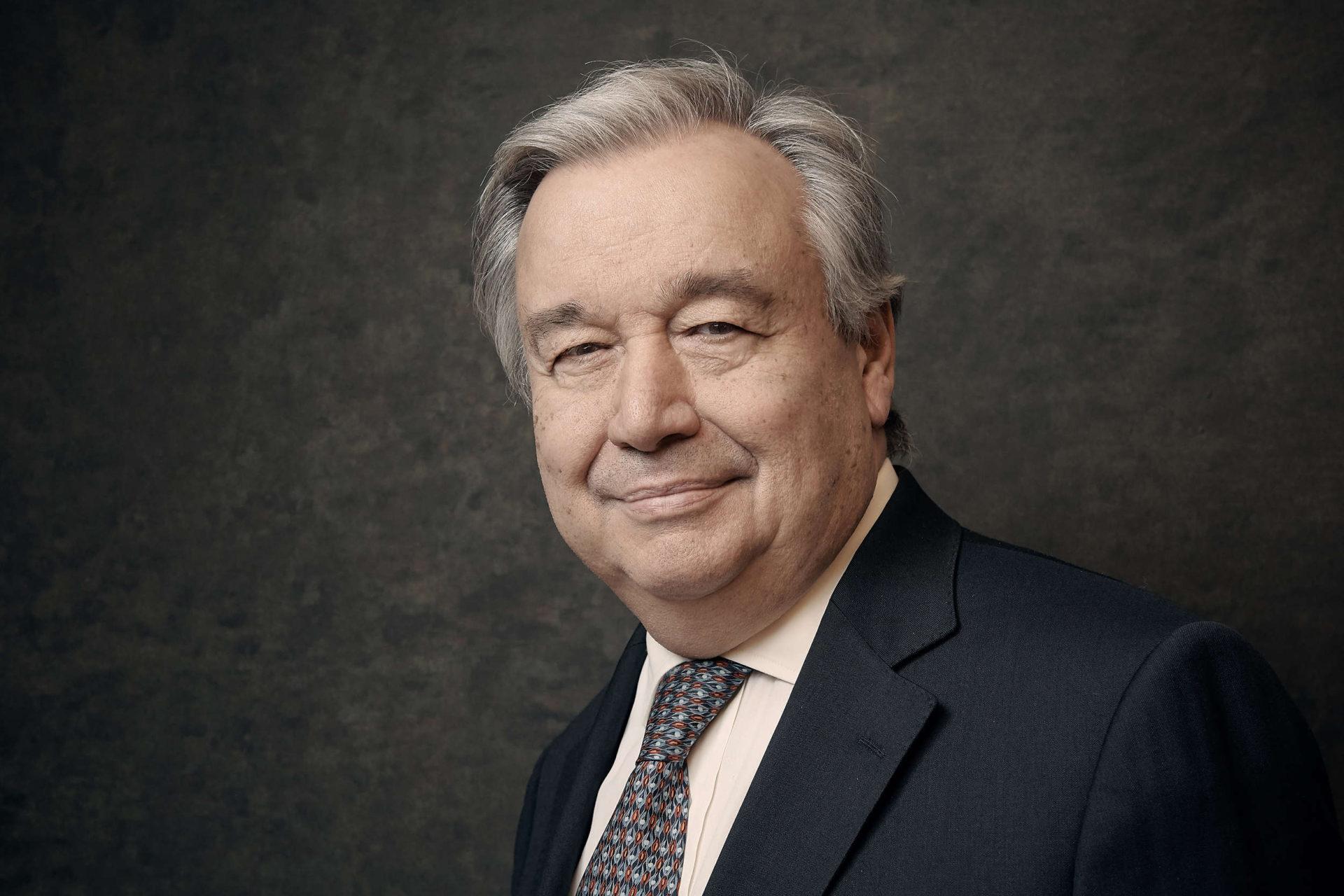 Antonio Guterrez, Secretary-General of the UN