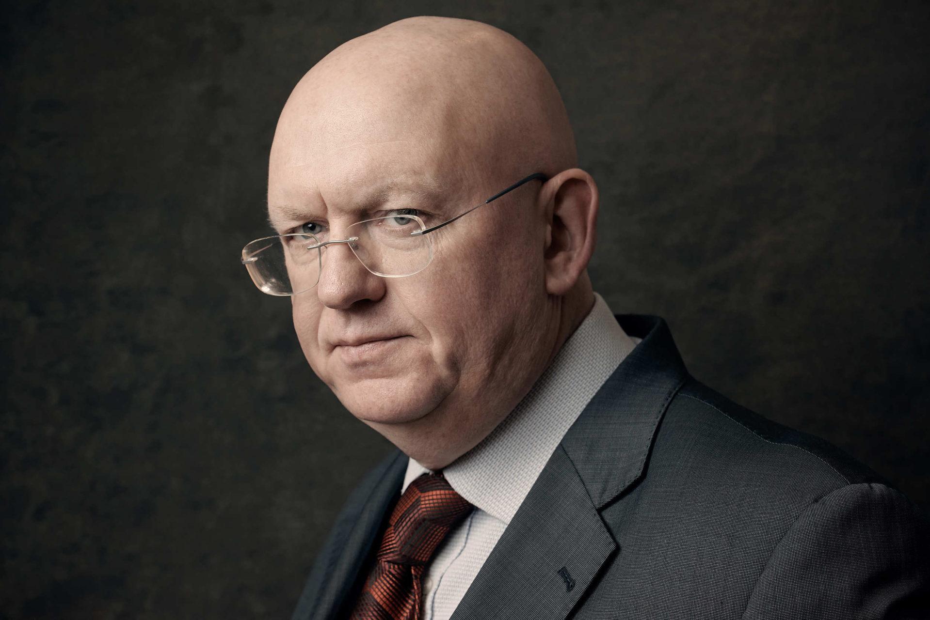 Vasiliy Nebenzya, Russia's Ambassador to the UN