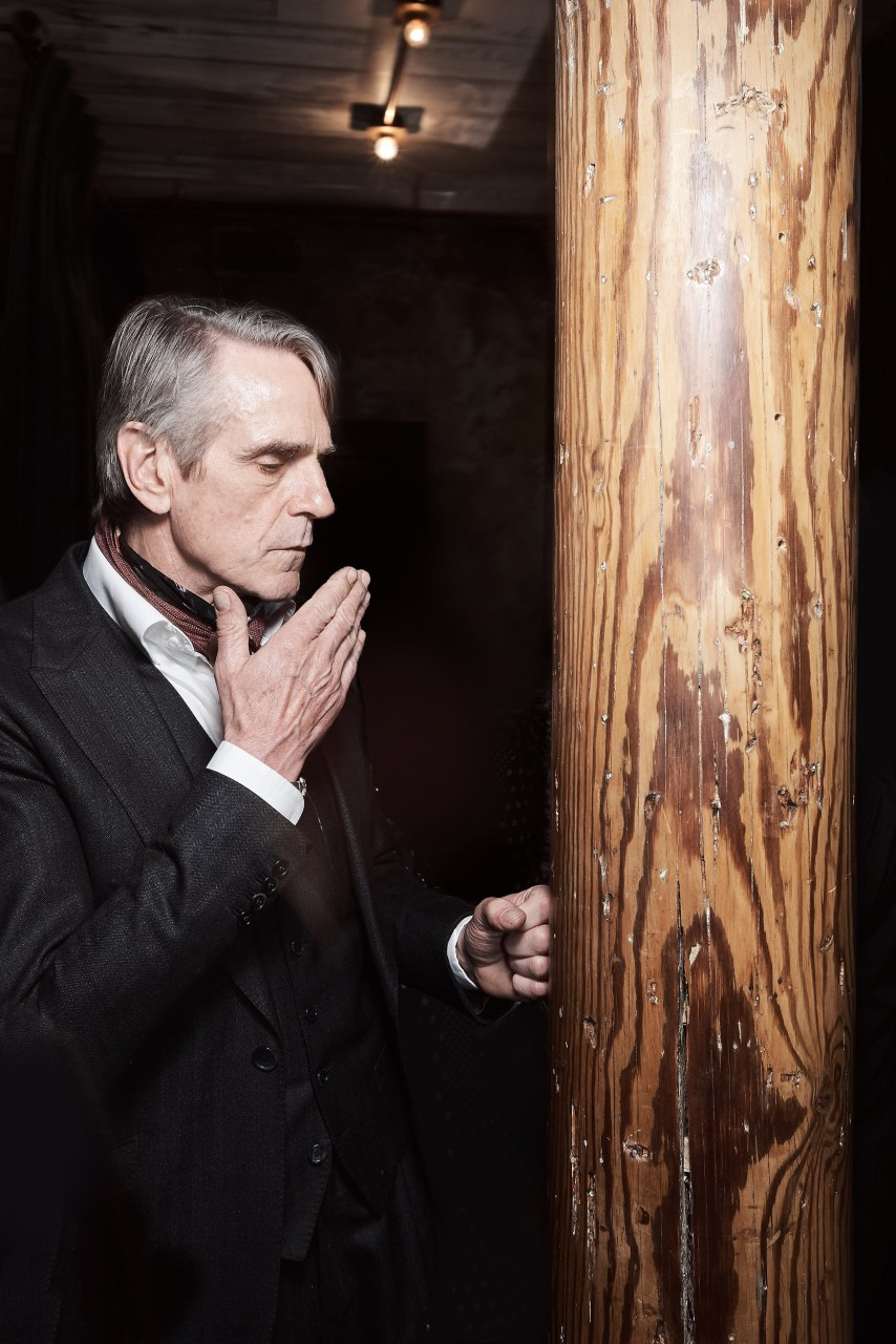 Jeremy Irons, an actor