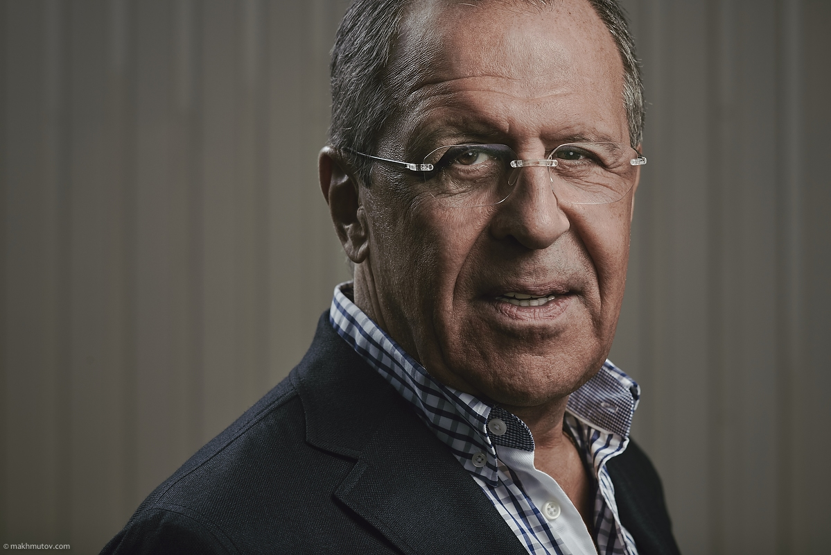 Sergey Lavrov, the Foreign Minister of Russia