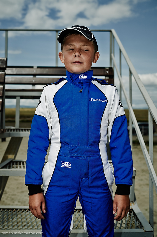 Pasha, 9 years old. Started racing at the age of 4.