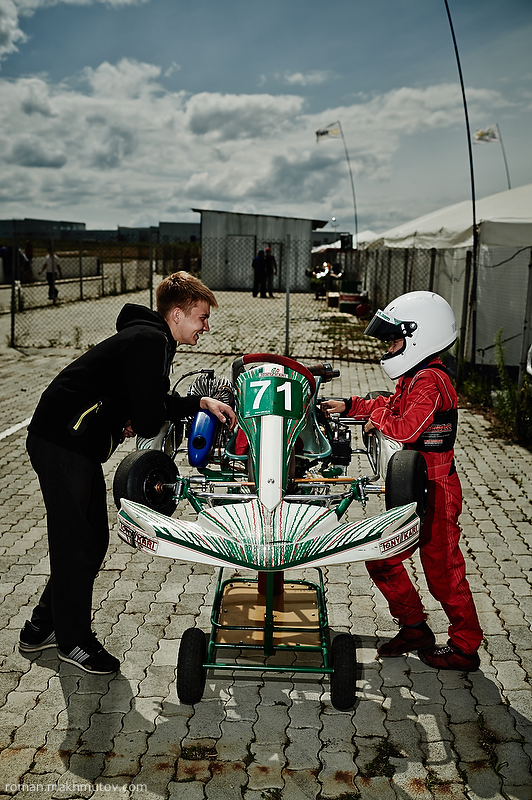 Monthly costs for kart racing can be up to $6,500 (10 times more than an average Russian monthly salary).