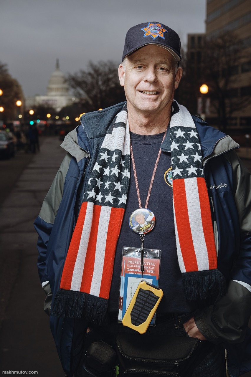 Read the full interviews here: https://www.behance.net/gallery/47731341/Visitors-of-the-Inauguration-Day-2017-in-Washington-DC